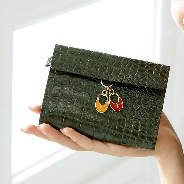 金運&運気アップする緑の財布のおすすめ長財布Roberta トウキョウ アリエッタ