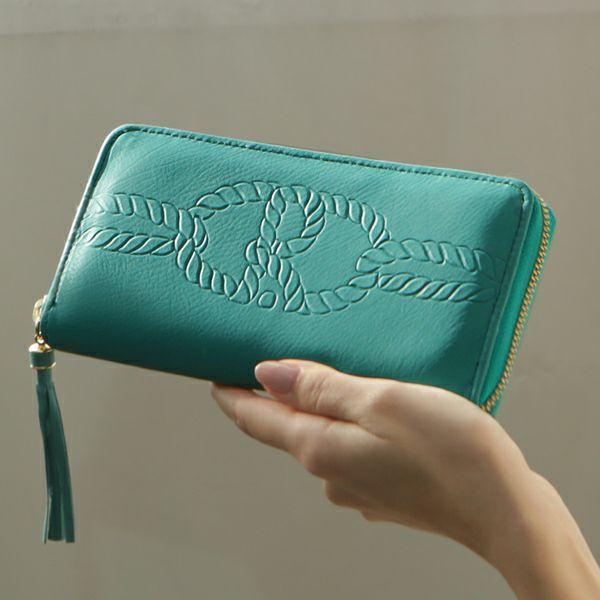 金運&運気アップする緑の財布のおすすめ長財布Roberta コルダ